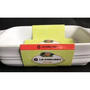 La Creuset Rectangular Baking Dish White 7 X 5 in
